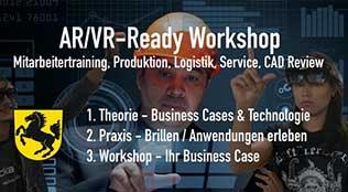 AR/VR-Ready Workshop im Collaboration Center